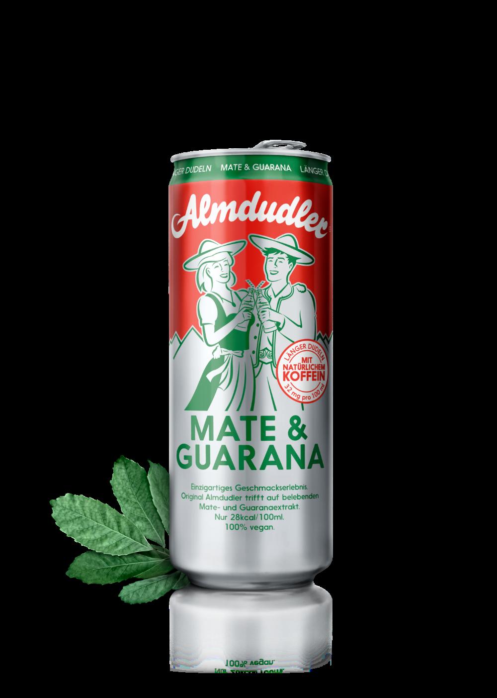 JETZT NEU: Almdudler Mate&Guarana auch in Deutschland