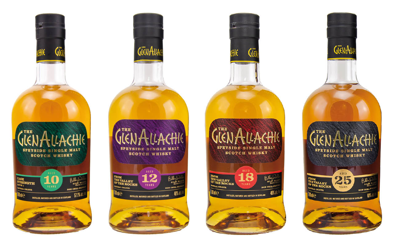 Premiere für die neuen Whiskys von GlenAllachie