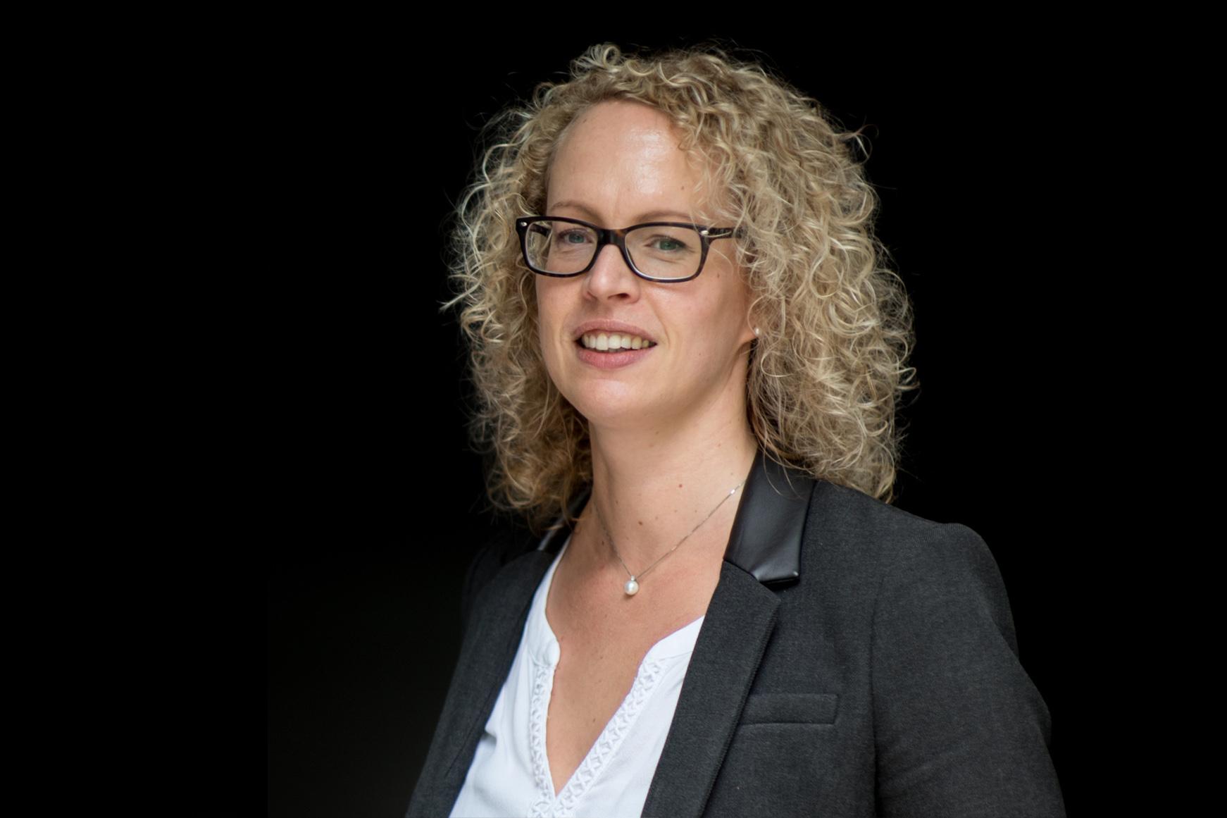 Geschäftsbereichleiterin Anne Schumacher