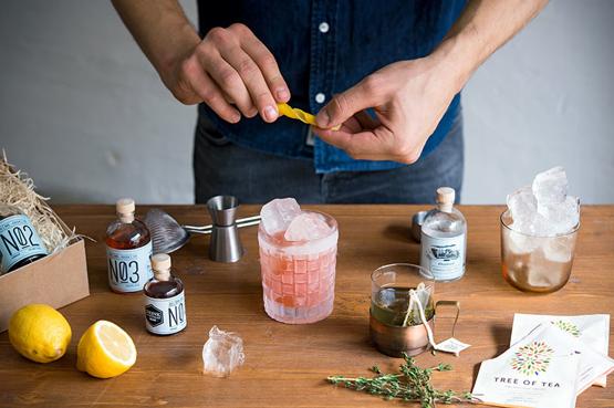 Gin & Tea Cocktails