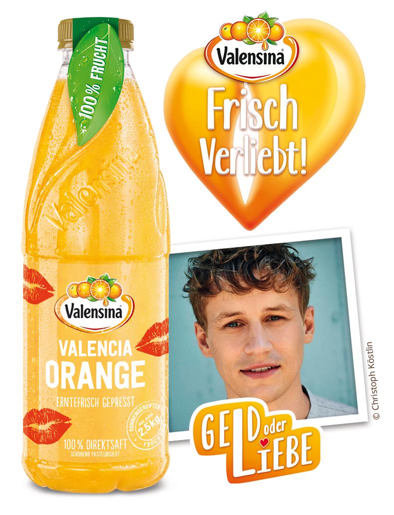 "Valensina Offensive: ""Frisch Verliebt"" im Kühlregal"