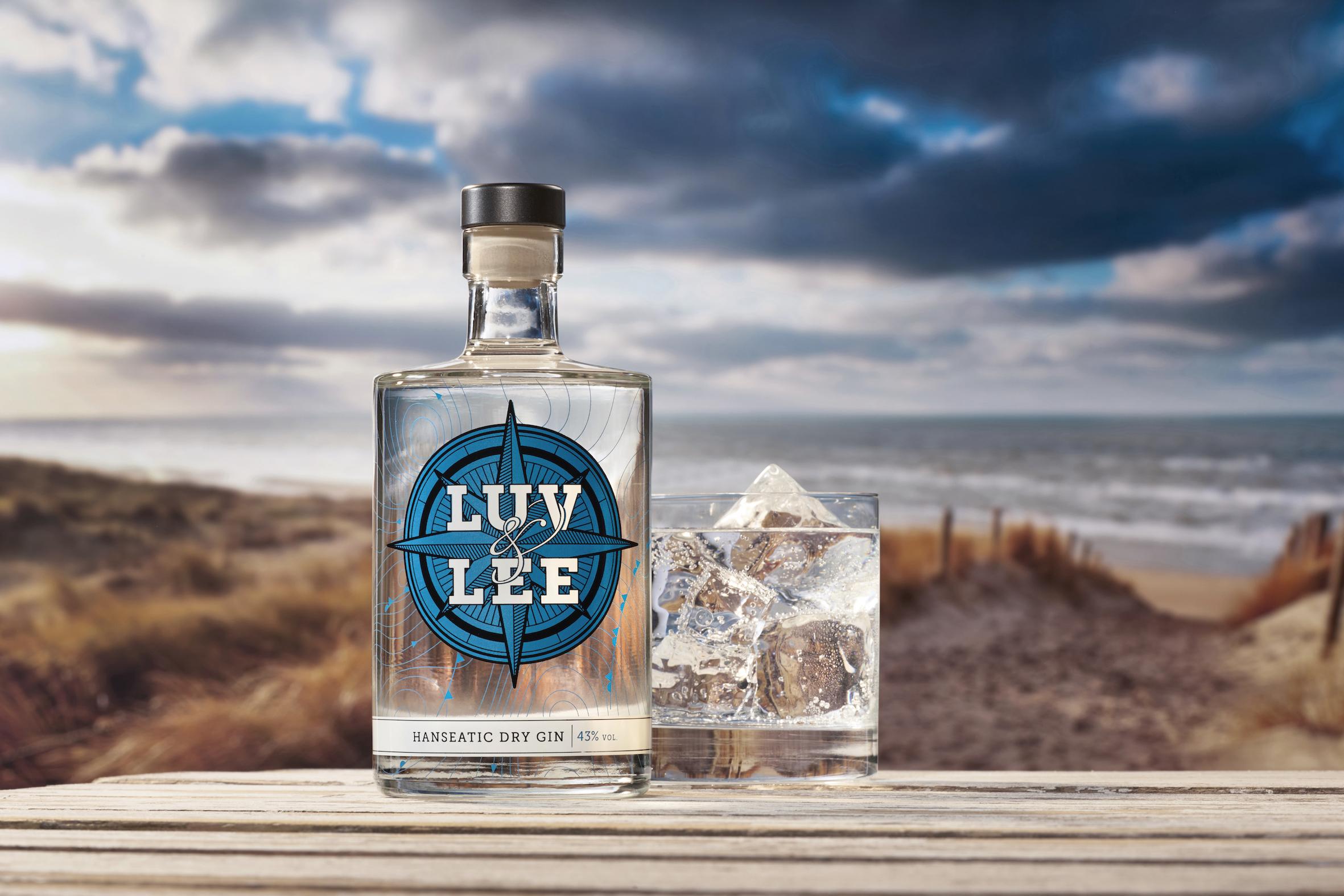 LUV & LEE Hanseatic Dry Gin: Frischer Wind im Glas!