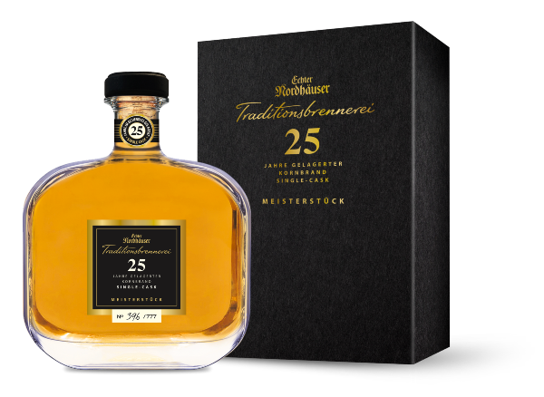 25 Jahre gereifter Single-Cask-Kornbrand als Limited Edition