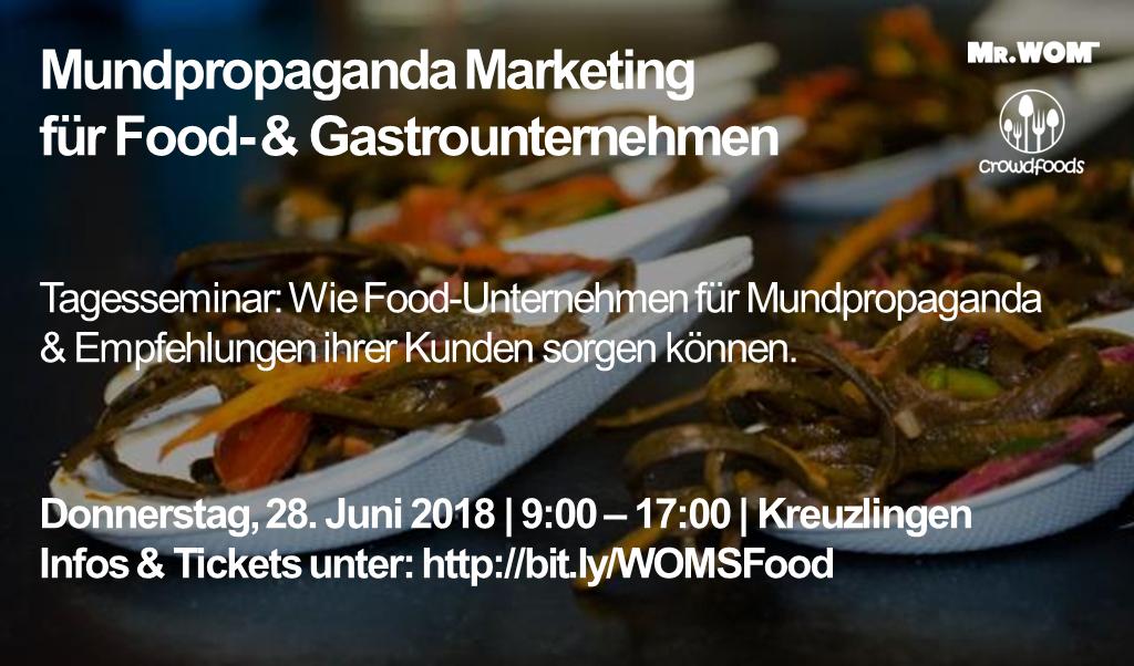 Praxis-Seminare für Food-Unternehmen und Startups
