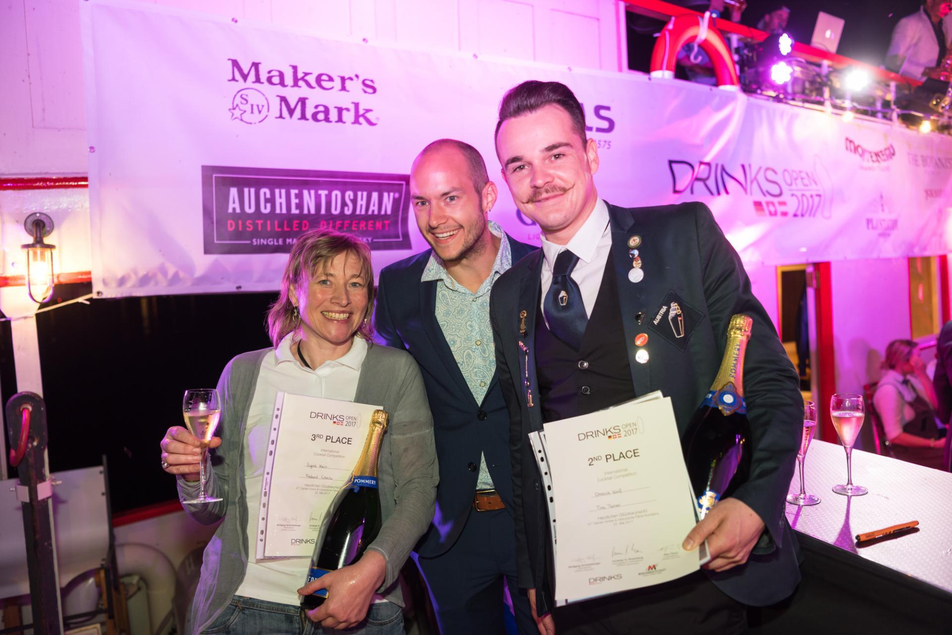 Gewinner der DRINKS OPEN Master 2017