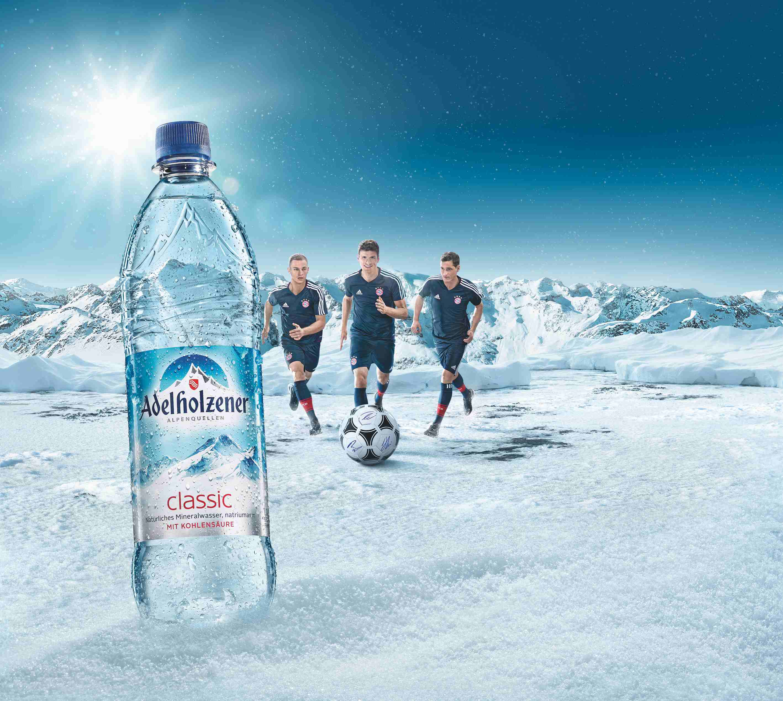 Adelholzener holt Triple-Power des FC Bayern München