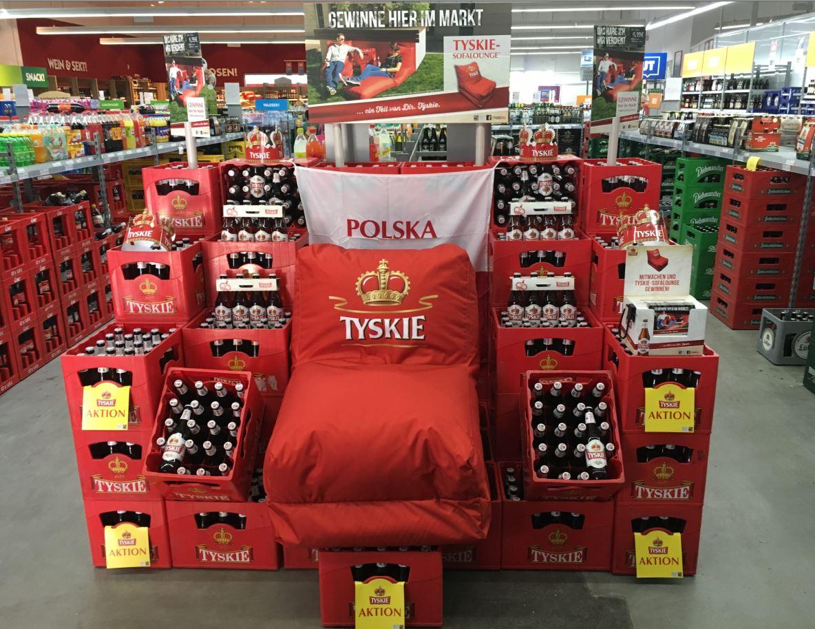 Tyskie startet mit neuer Handelsaktion in den Sommer Komfort für drinnen und draußen