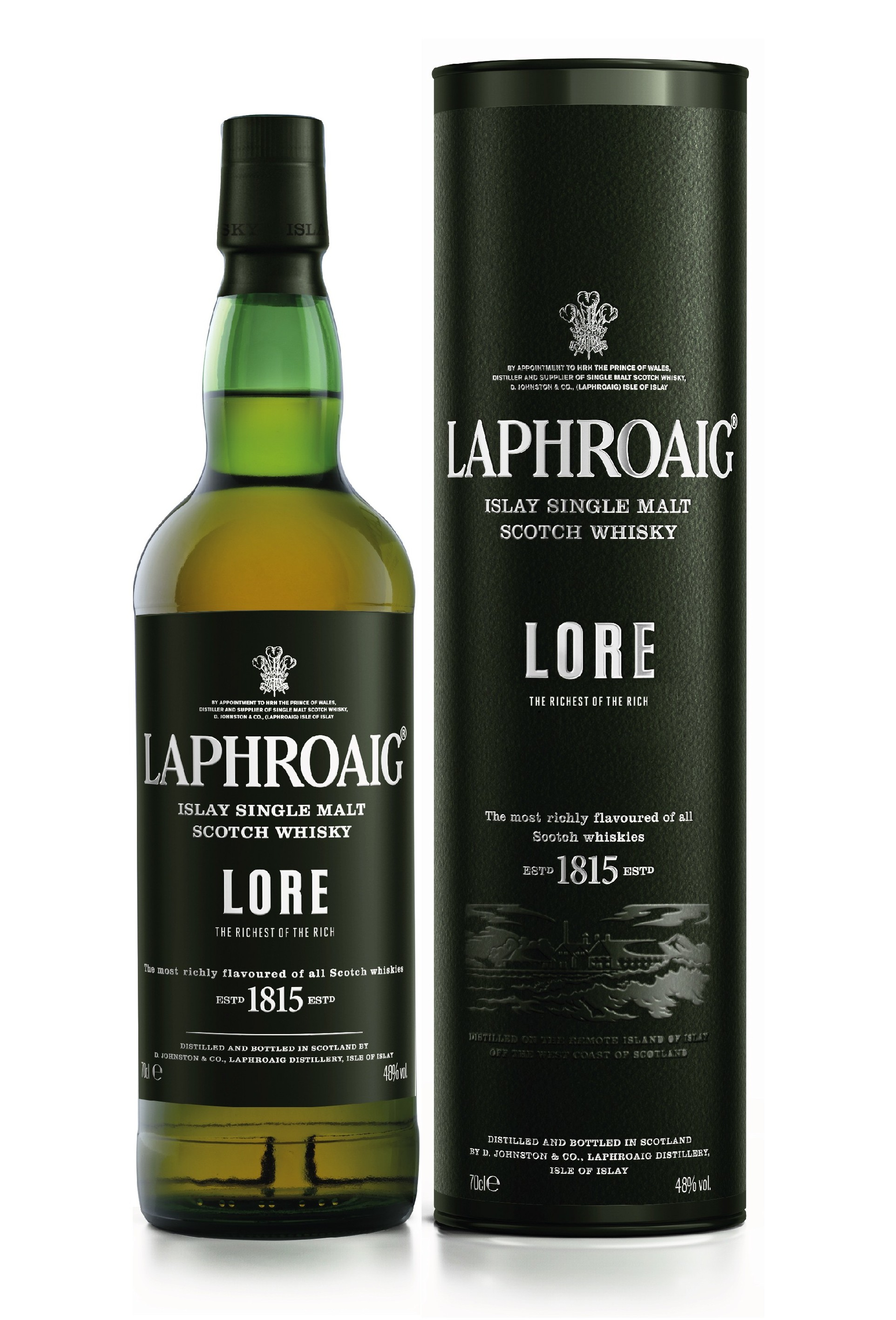 Traditionsreicher Neuzugang: Laphroaig Lore erweitert Premium-Segment