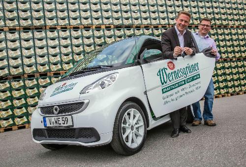 Klein aber oho: Neues Elektro-Auto für Wernesgrüner