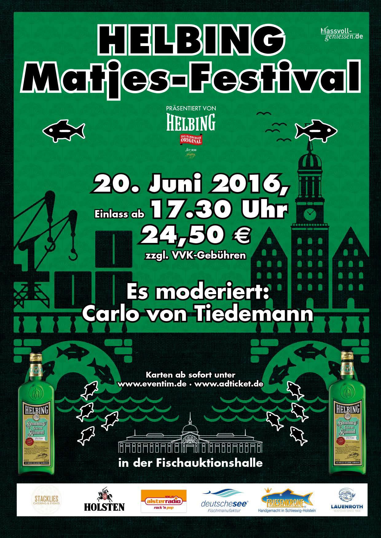 Sommer, Elbe und frischer Matjes – 9. Helbing-Matjes-Festival in Hamburg