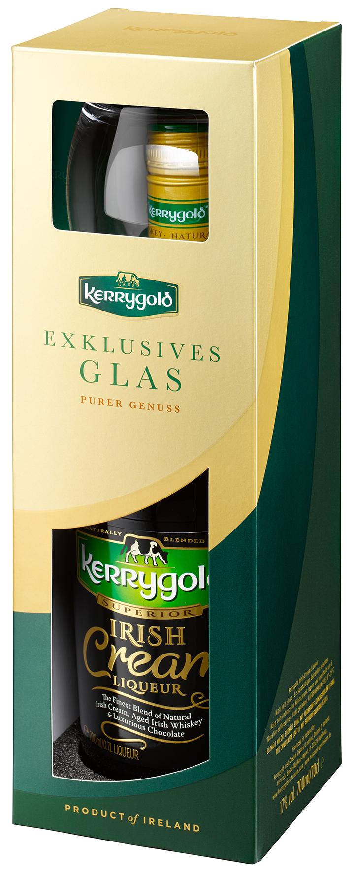 Aktionsflasche mit hochwertigem Tumbler-Glas