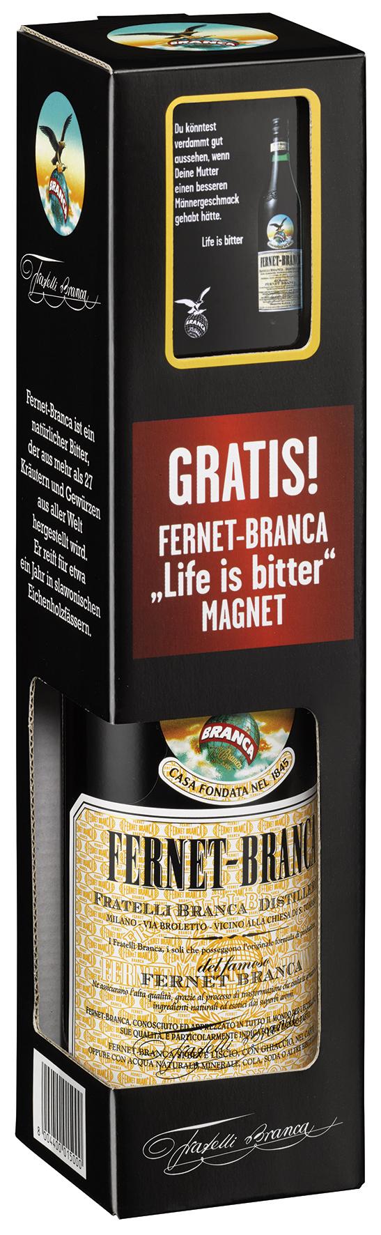 Fernet-Branca Inpack-Promotion