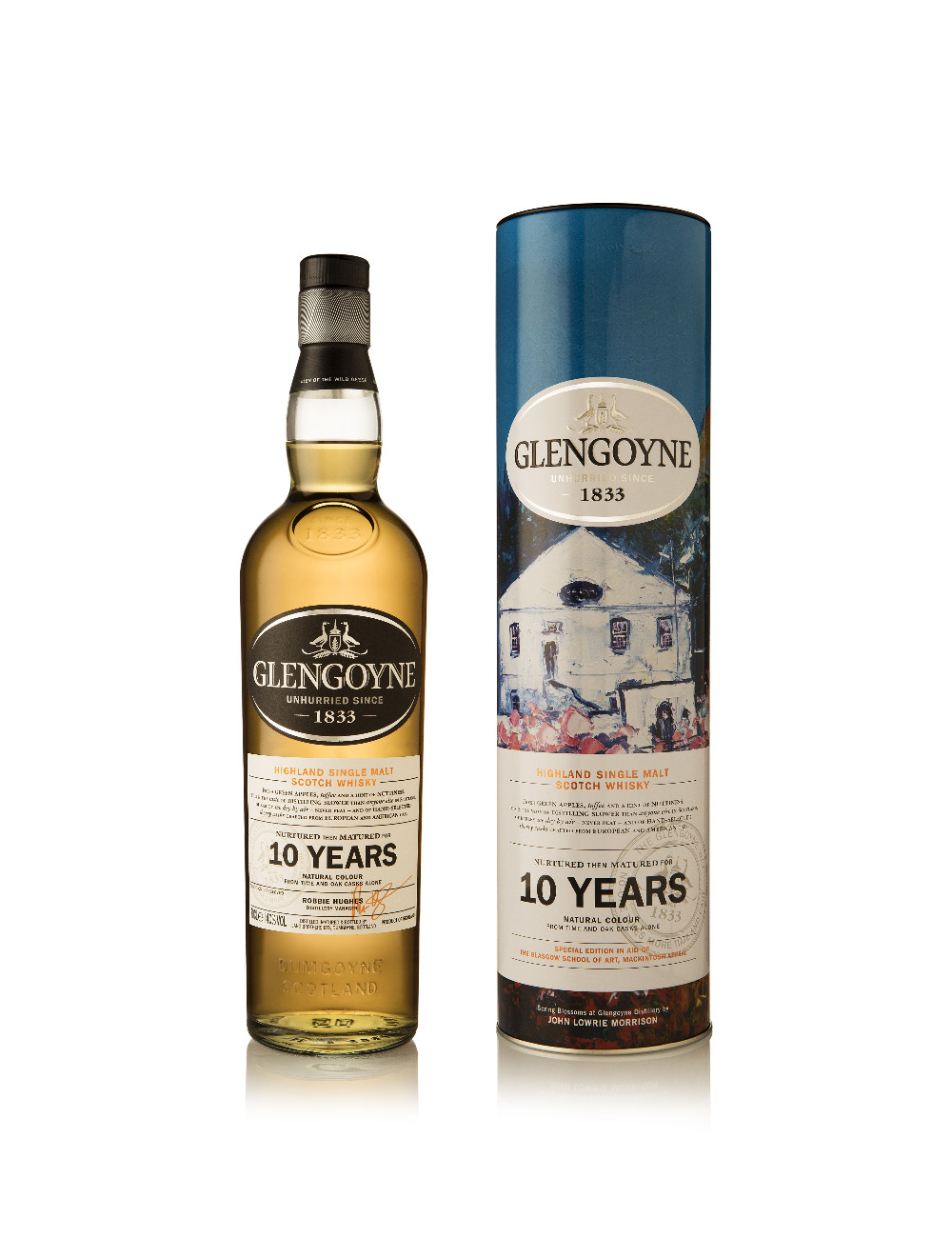 """Spring Blossoms at Glengoyne"" Kunstedition"