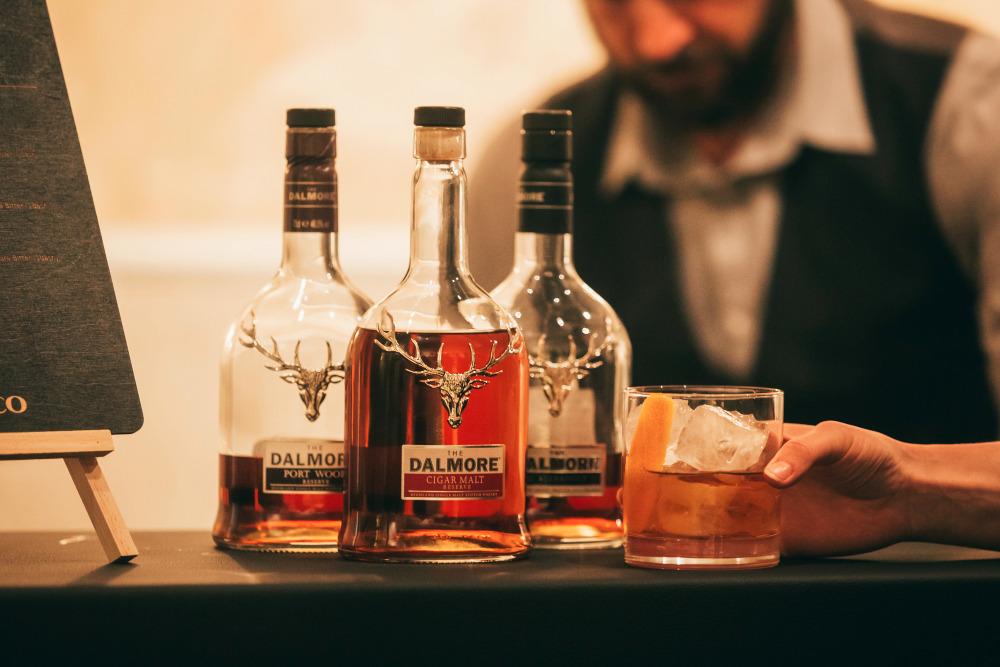 Barkultur um den Premium-Whisky The Dalmore