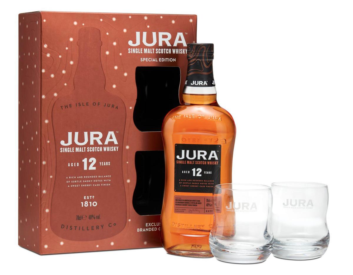 Jura Whisky präsentiert Jura 10 YO, 12 YO Geschenksets und Minipack