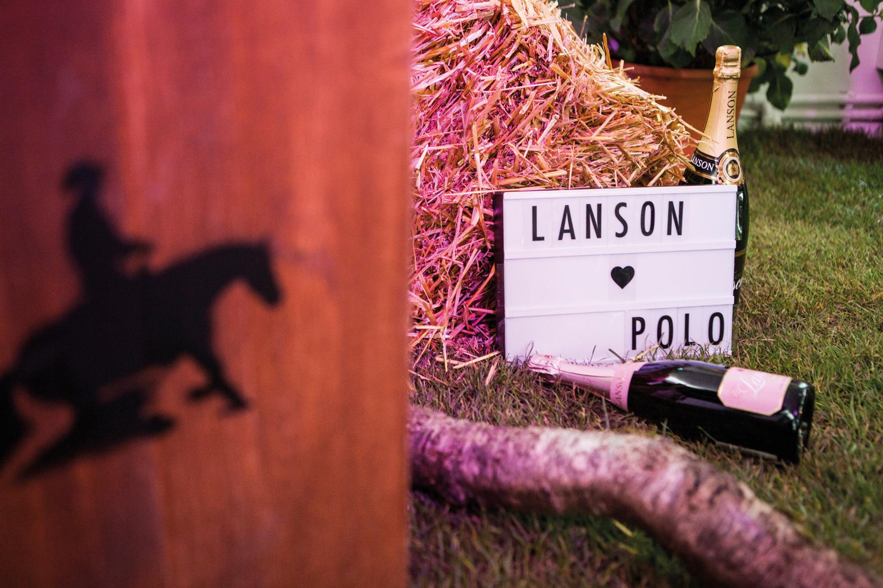 Pfingsten mit Polo und Champagne Lanson