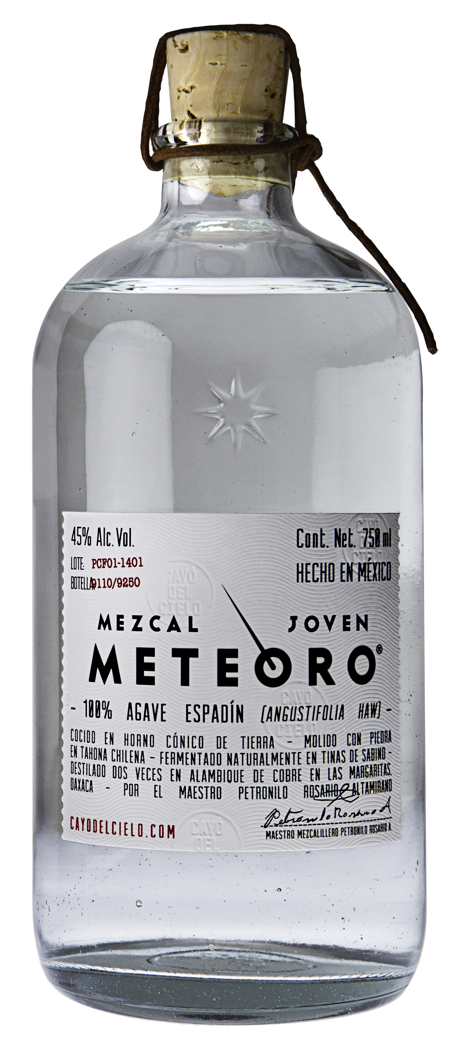 MEZCAL METEORO Espadín