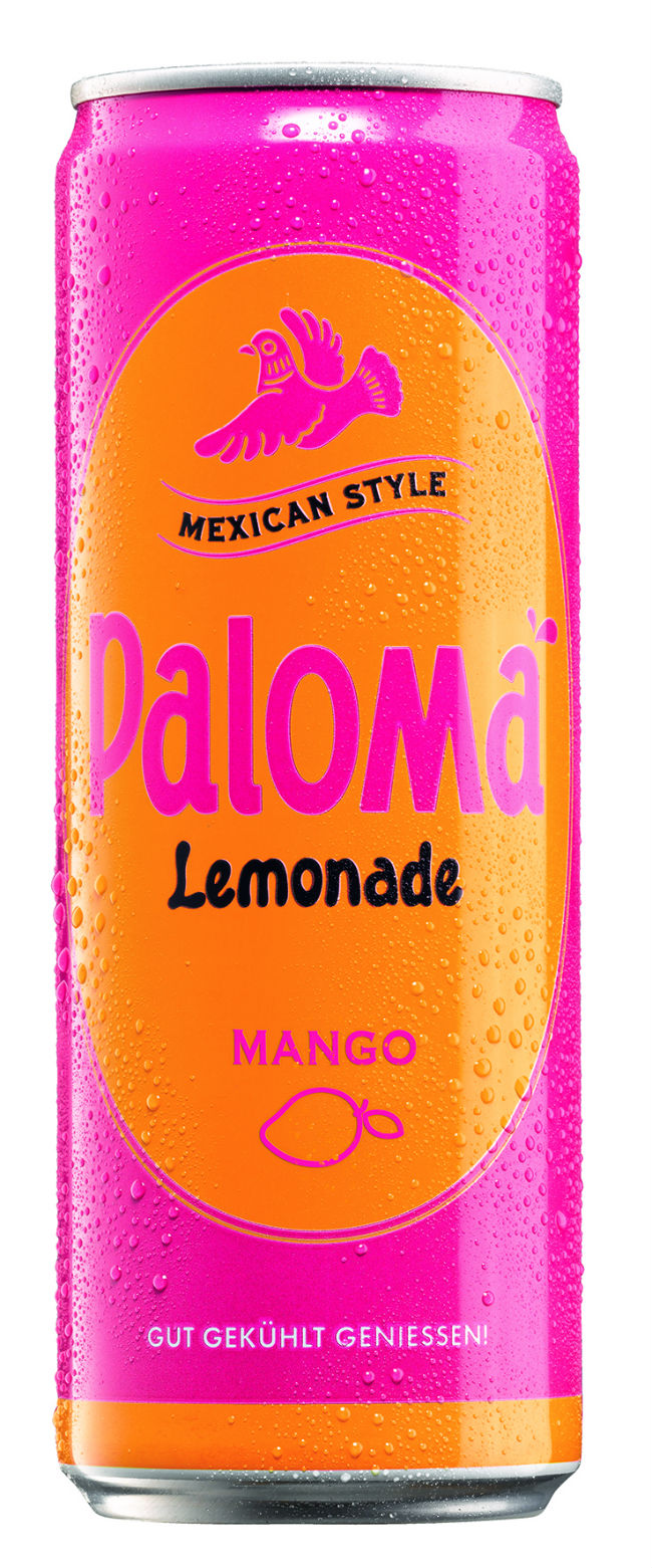 PALOMA Lemonade Mango: BORCO erweitert PALOMA-Range