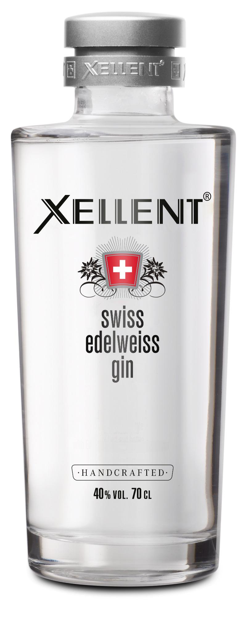XELLENT Edelweiss GIN: Inspiriert von Kräutern und Pflanzen aus dem firmeneigenen Garten