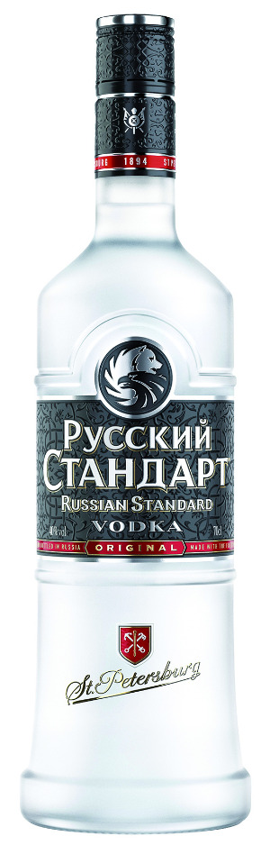 Russian Standard Vodka Original launcht neues Flaschendesign