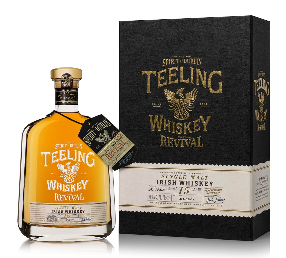 "Revival ""Volume IV"" 15 Years Old: Teeling Whiskey launcht weitere Sonderabfüllung"