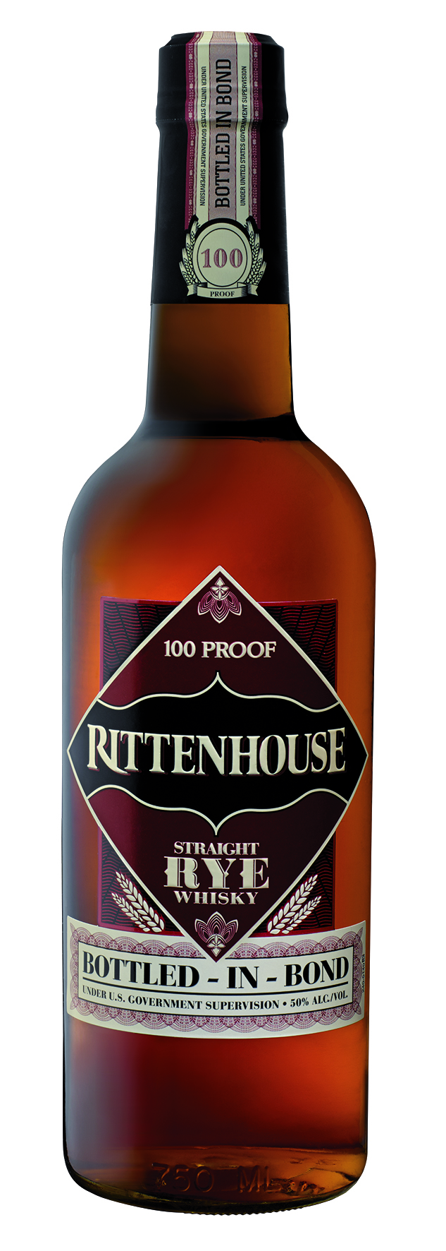 Rittenhouse Bottled-In-Bond Straight Rye Whisky