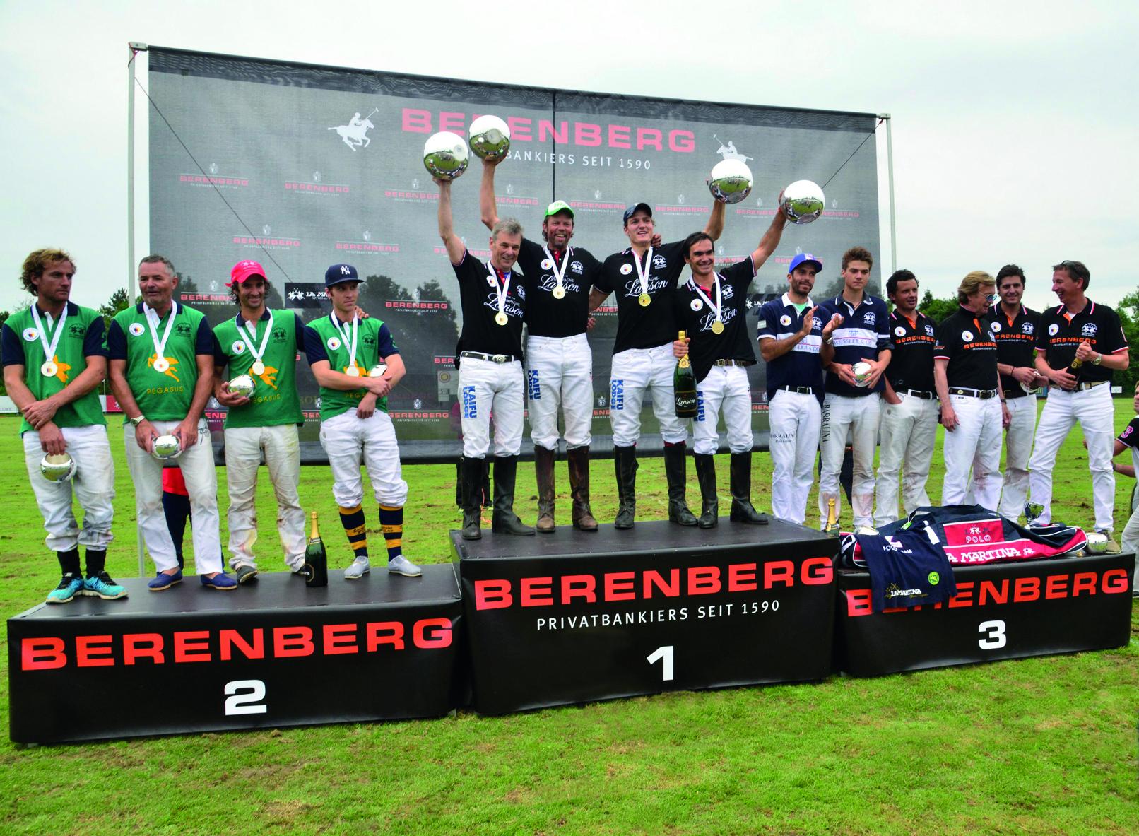 Team Champagne Lanson will Berenberg Polo Derby erneut gewinnen