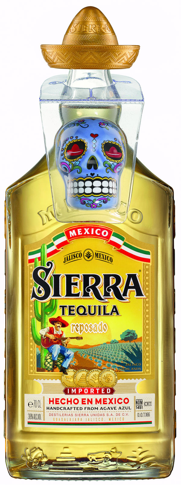 SIERRA Tequila Onpack: Día de los Muertos Salzstreuer in neuen Farben