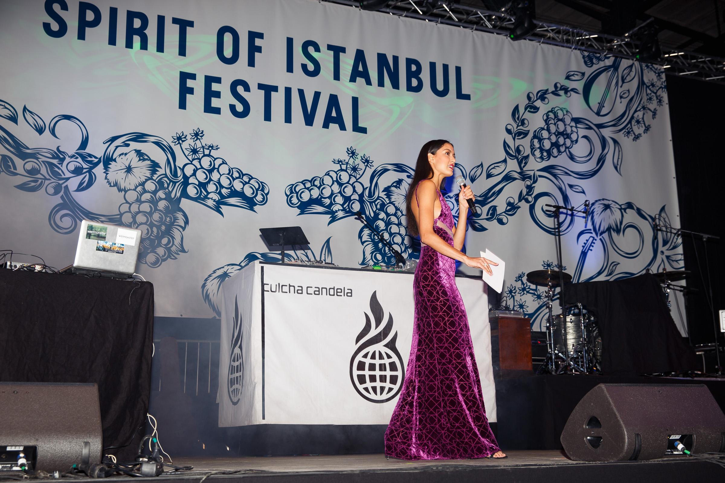 Beim 5. Spirit of Istanbul FestivalRebecca Mir