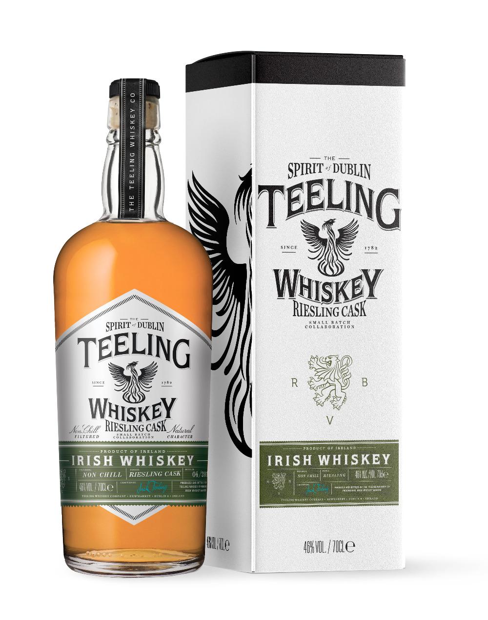Teeling Whiskey launcht Sonderabfüllung mit dem Weingut Reichsrat von Buhl