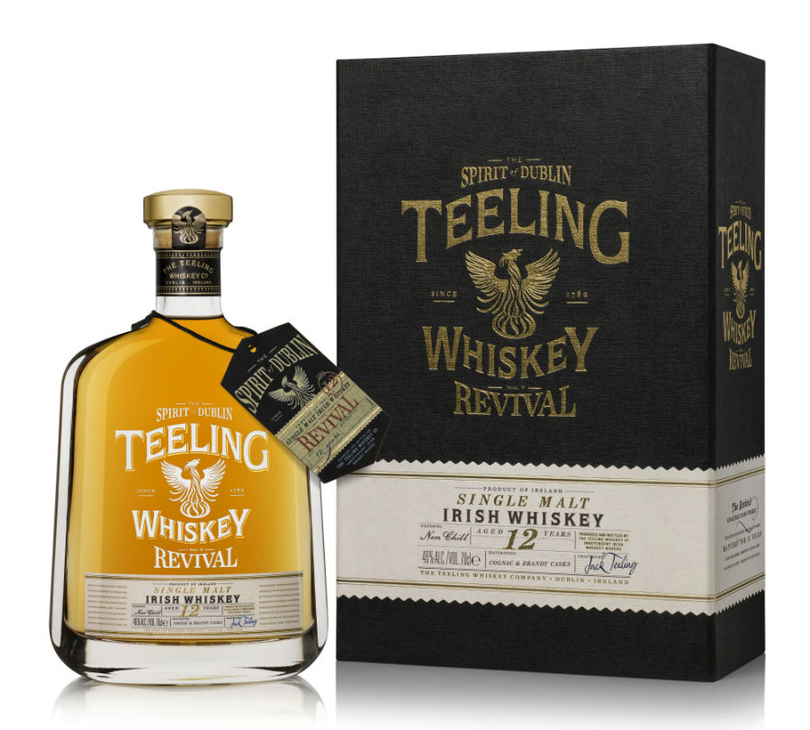 "Revival ""Volume V"" 12 Years Old: Teeling Whiskey komplettiert Revival-Reihe"