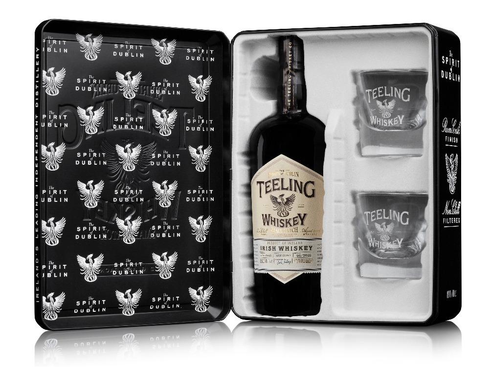 Teeling Small Batch Whiskey Geschenkset mit zwei Tumbler