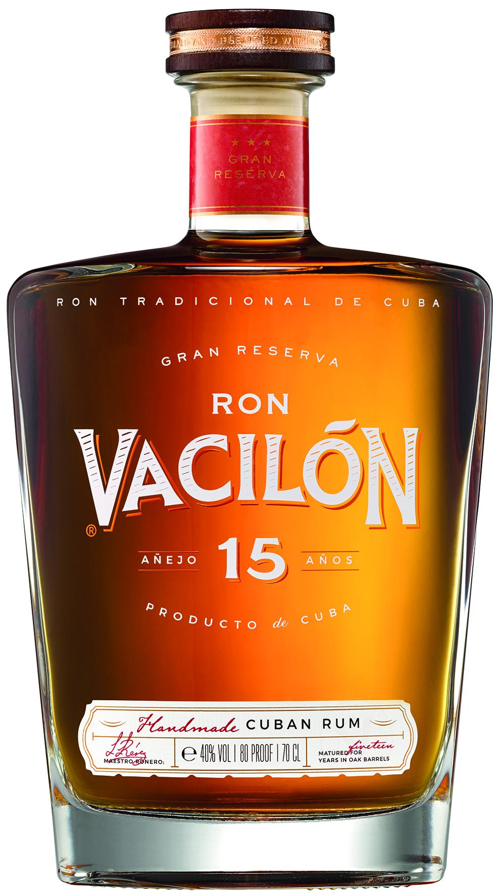 RON VACILÓN 15 AÑOS – GRAN RESERVA
