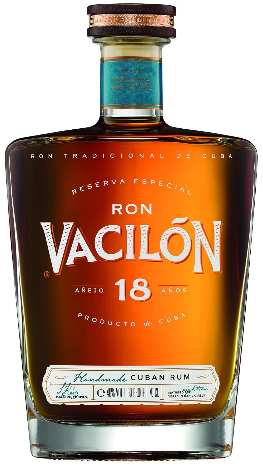 RON VACILÓN 18 AÑOS – RESERVA ESPECIAL