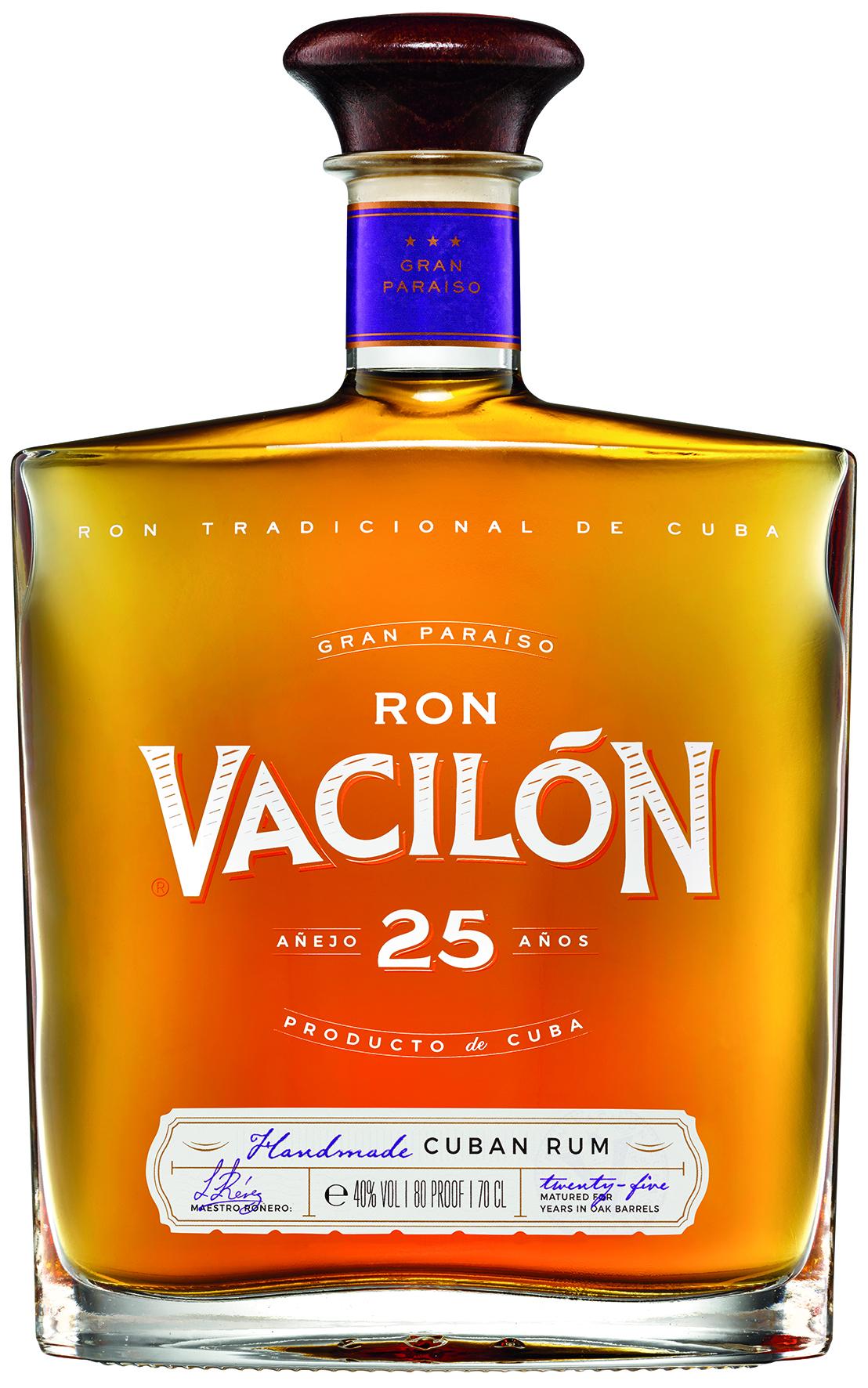 RON VACILÓN 25 AÑOS – GRAN PARAĺSO