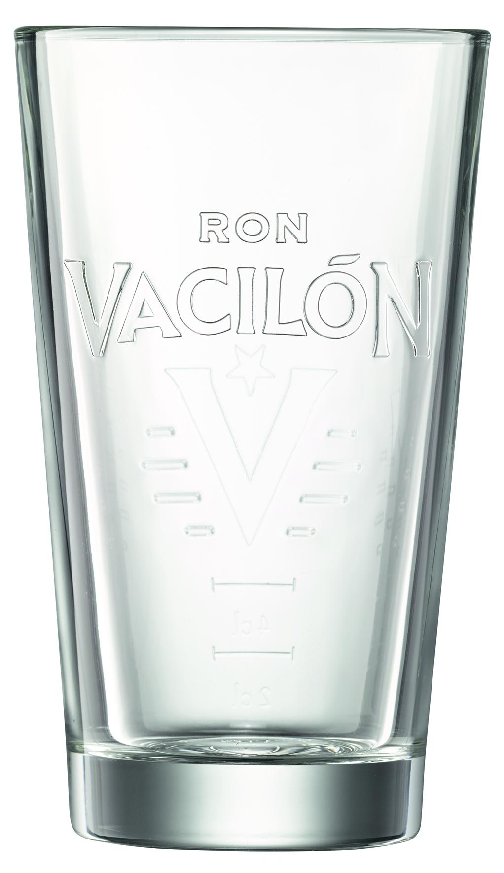 RON VACILÓN 3 AÑOS mit exklusivem Designglas