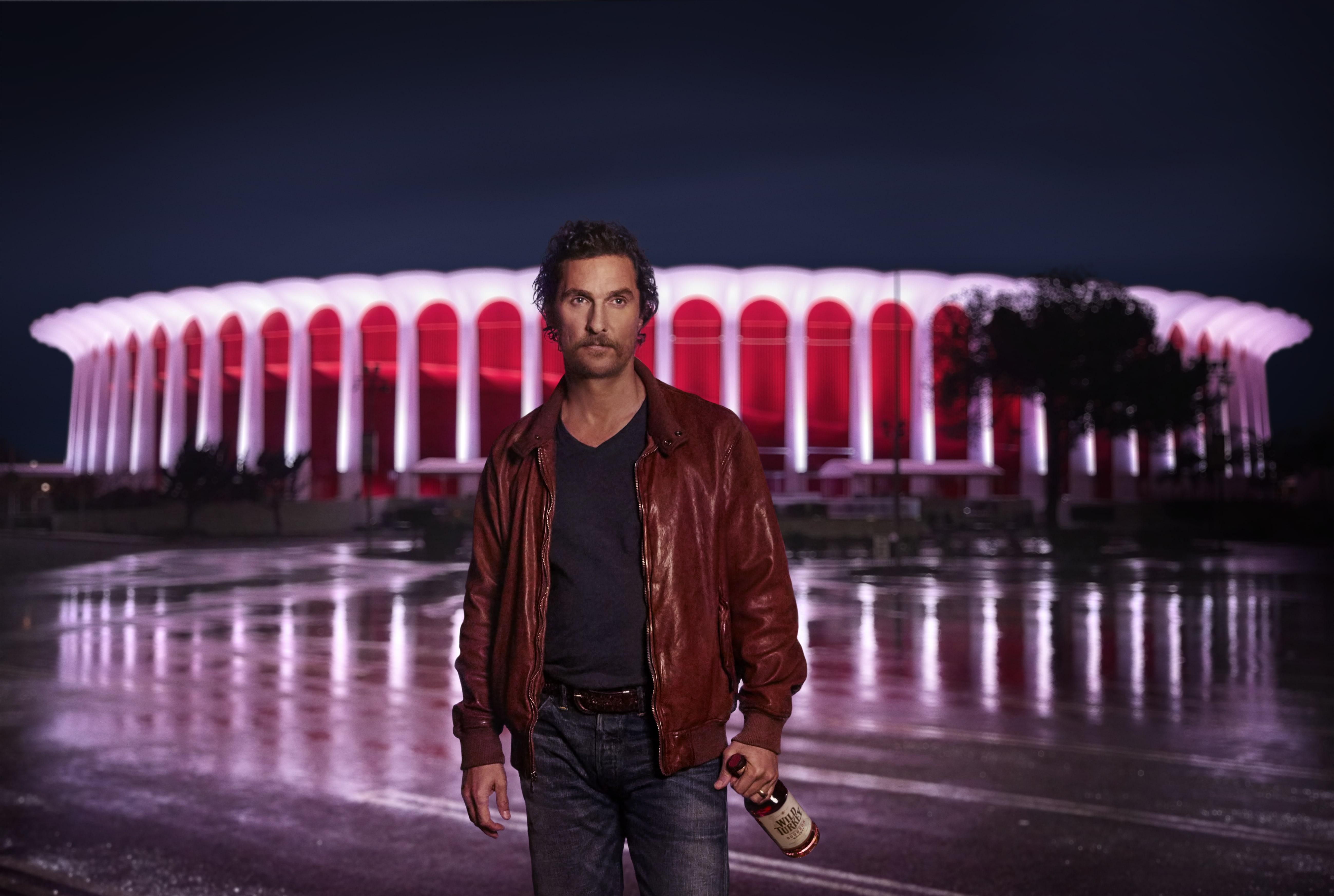 Oscar-Preisträger und Wild-Turkey-Kreativdirektor Matthew McConaughey
