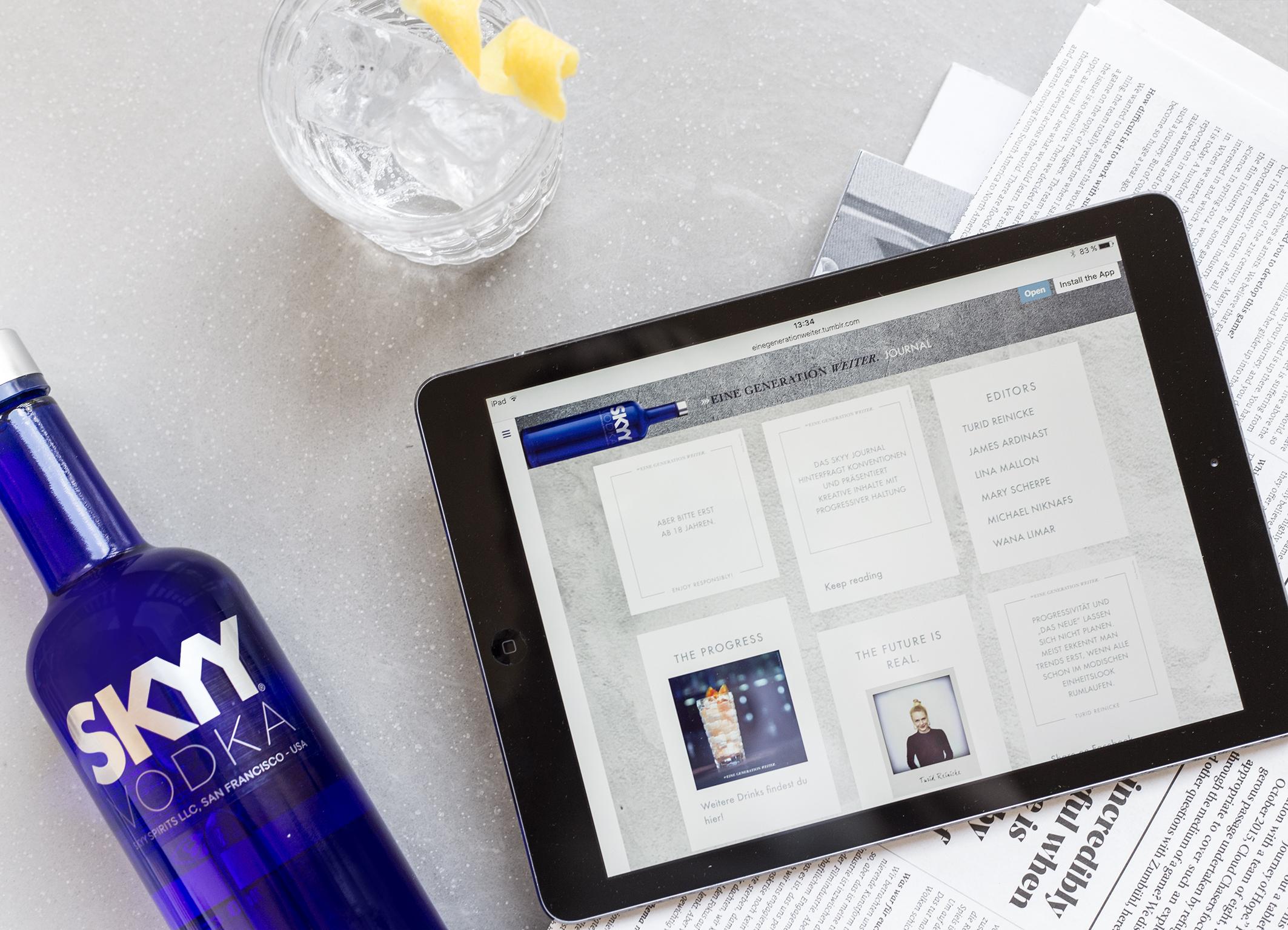 Der Premium-Vodka launcht eigenes Lifestyle-Journal