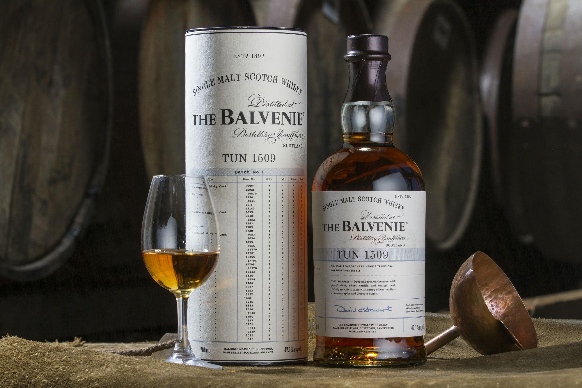 The Balvenie kündigt vierte Abfüllung in der renommierten Sammlerreihe tun 1509 an