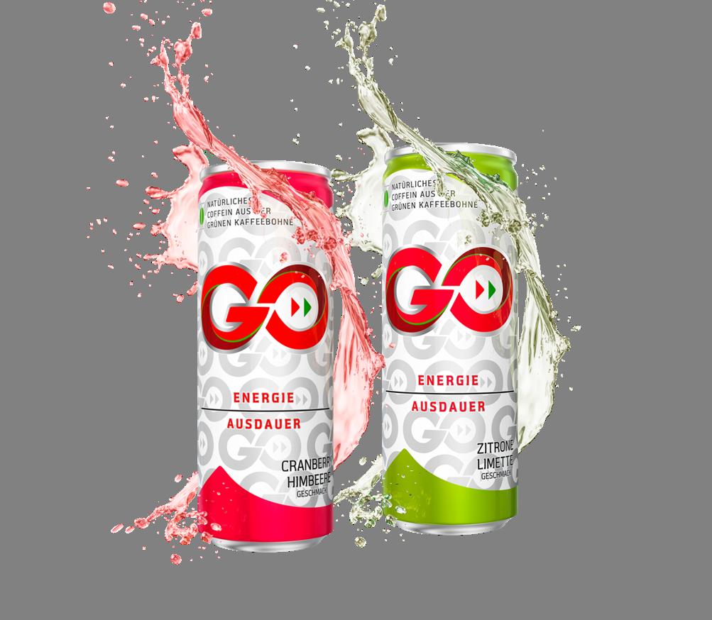 Erfrischend anders: Energy-Getränk GO