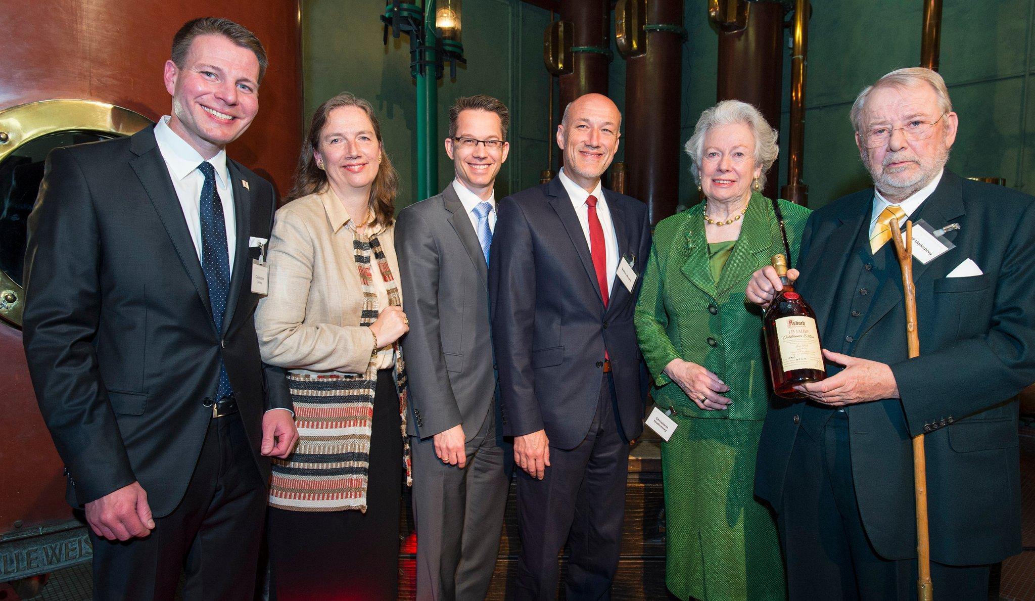 125jähriges Jubiläum bei Asbach