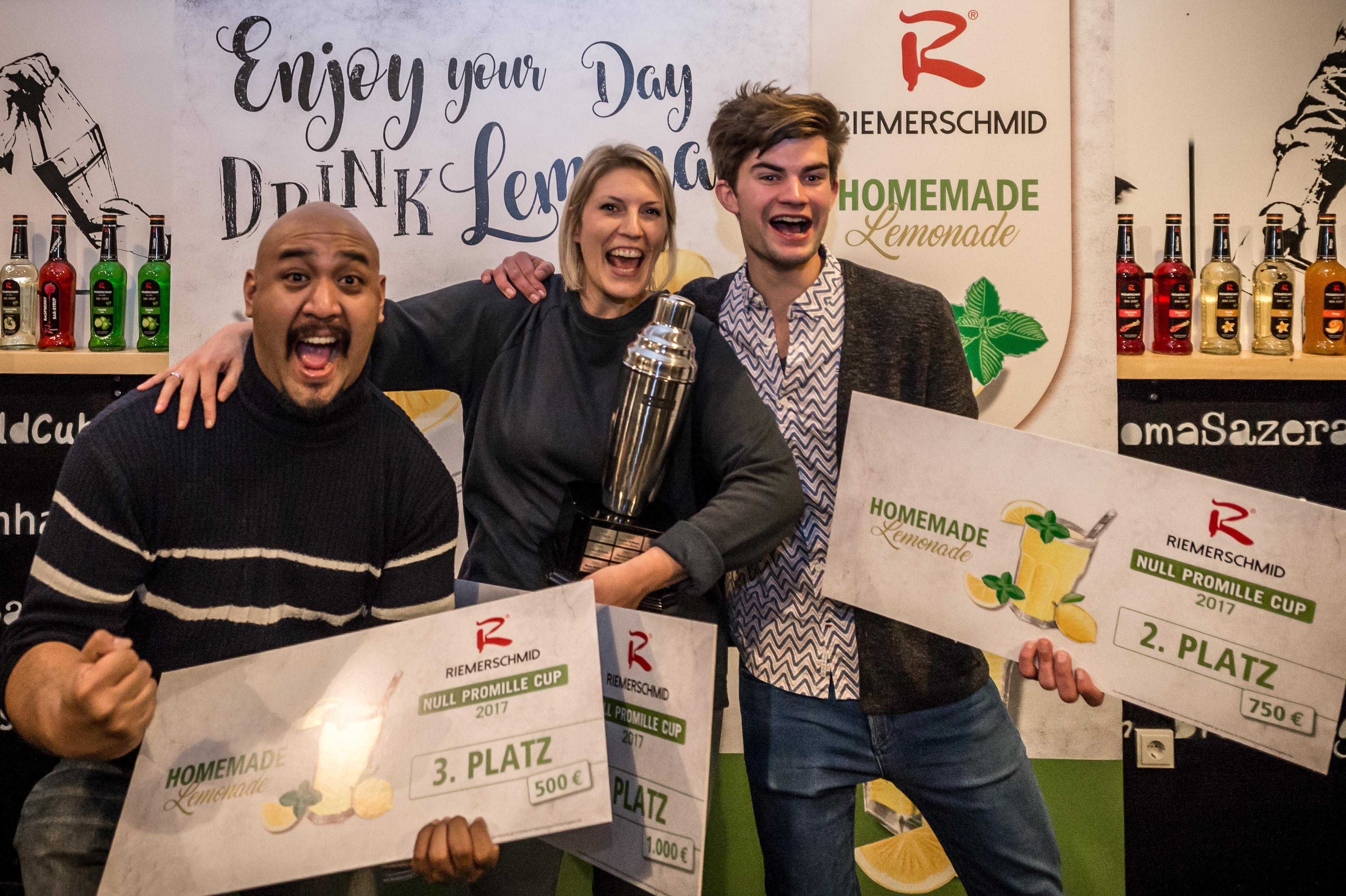 Die Sieger des Riemerschmid Null Promille Cup 2017 stehen fest
