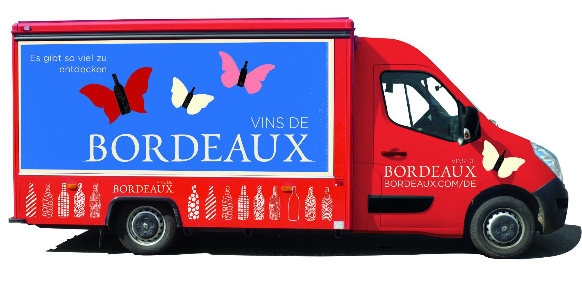 """Der """"Bordeaux Wein Truck"""" beim Festival der Genüsse Köln"""