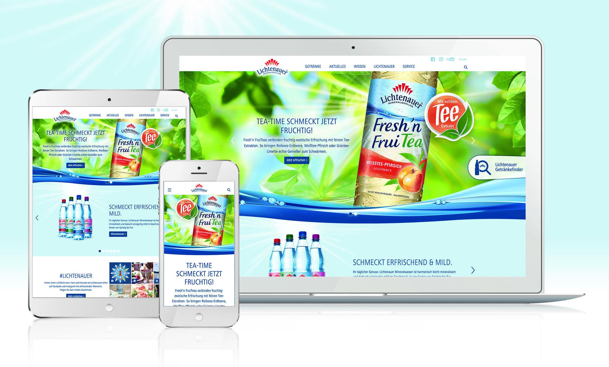Lichtenauer launcht neue Website