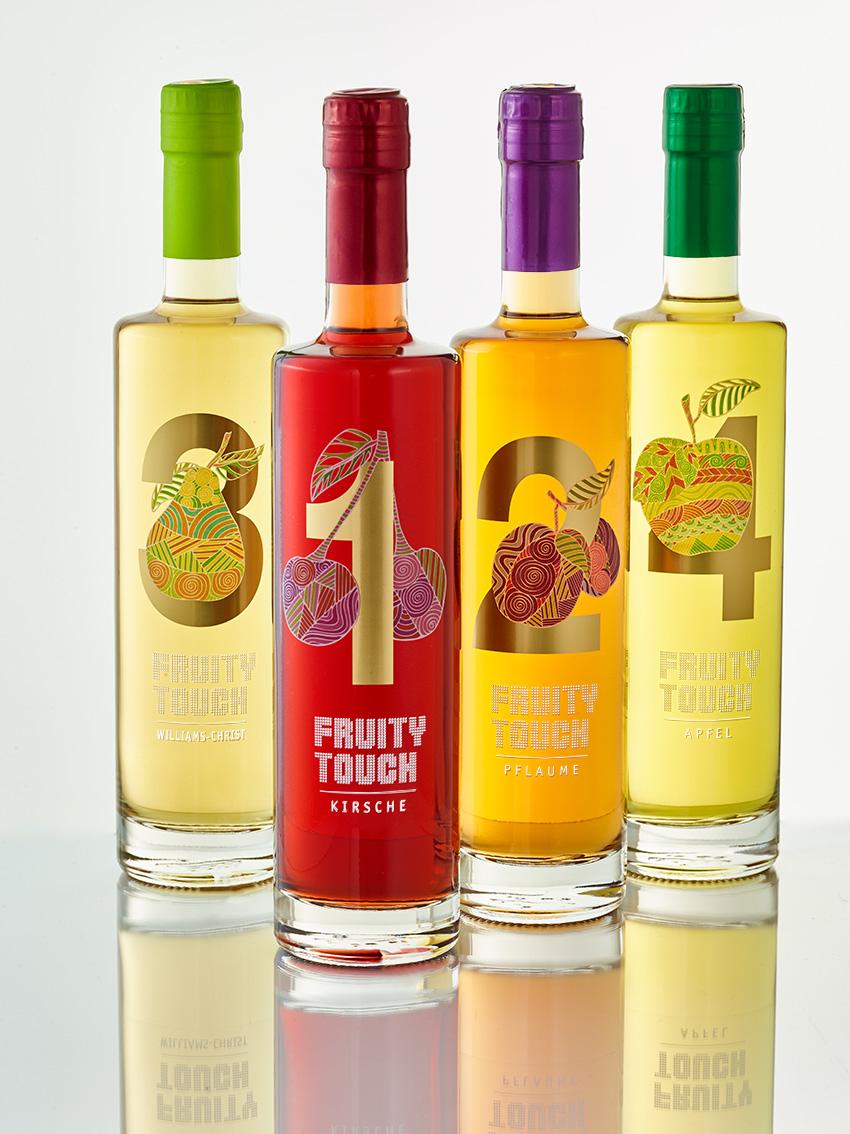 Fruity Touch – der Obstbrand mit dem fruchtigen Pepp