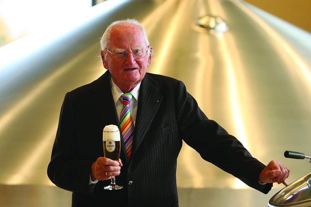 Krombacher Brauerei trauert um Seniorchef Dr. h. c. Friedrich Schadeberg