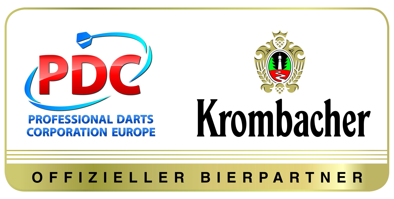 game on krombacher wird offizieller bierpartner der pdc europe. Black Bedroom Furniture Sets. Home Design Ideas