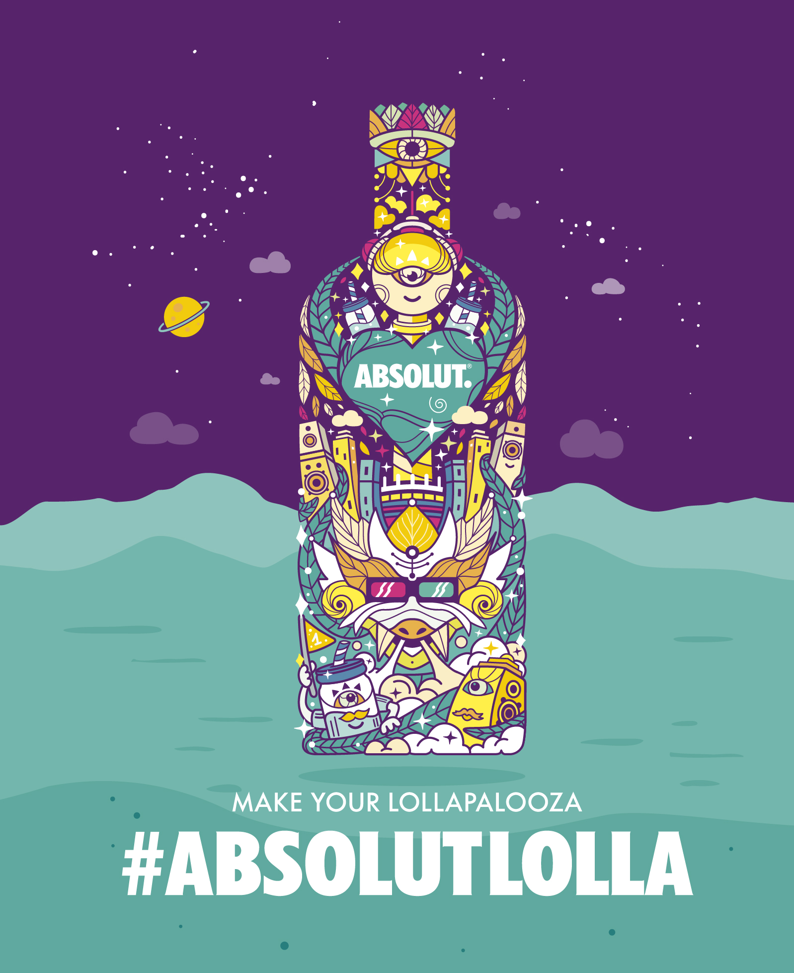 "Absolut Festival Edition ""Absolut Lolla"""