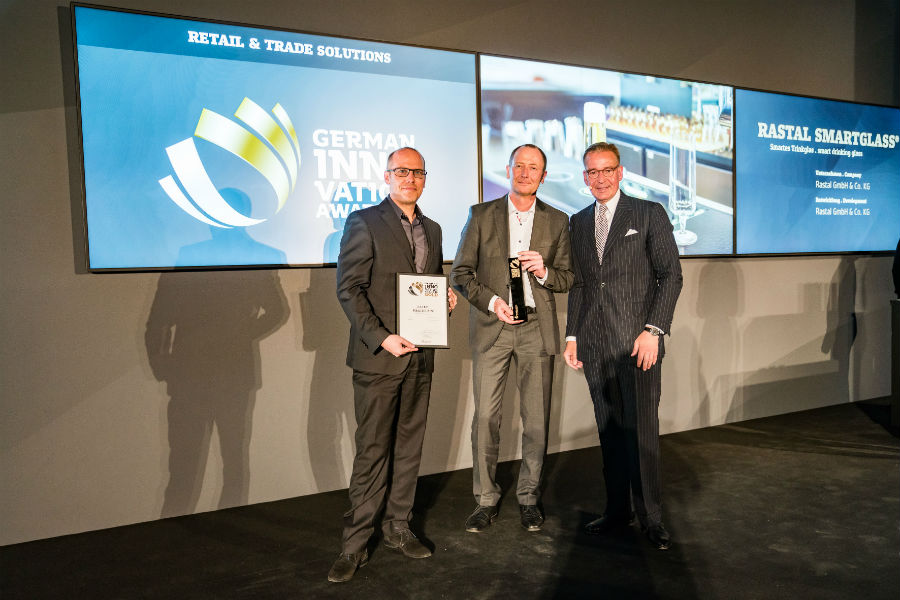 RASTAL SMARTGLASS® gewint den German Innovation Award in Gold
