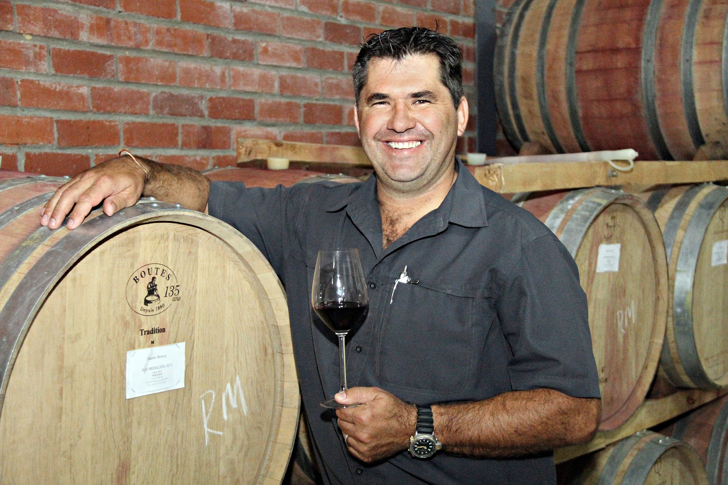"Napier Vineyards: ""Best Producer ,Still Wine' South Africa"""